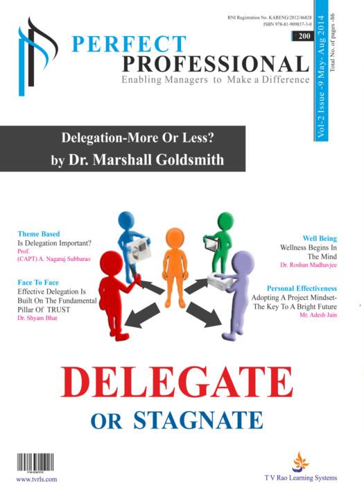 Delegate Or Stagnate