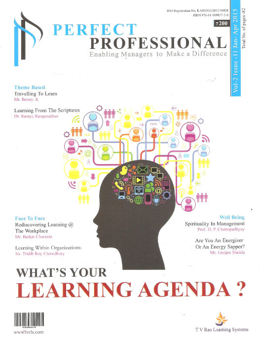 WHAT'S YOUR LEARNING AGENDA ?