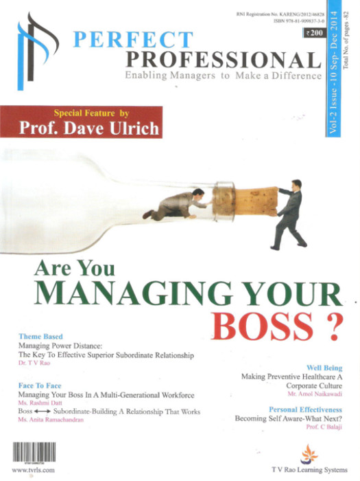 Are You Managing Your Boss?
